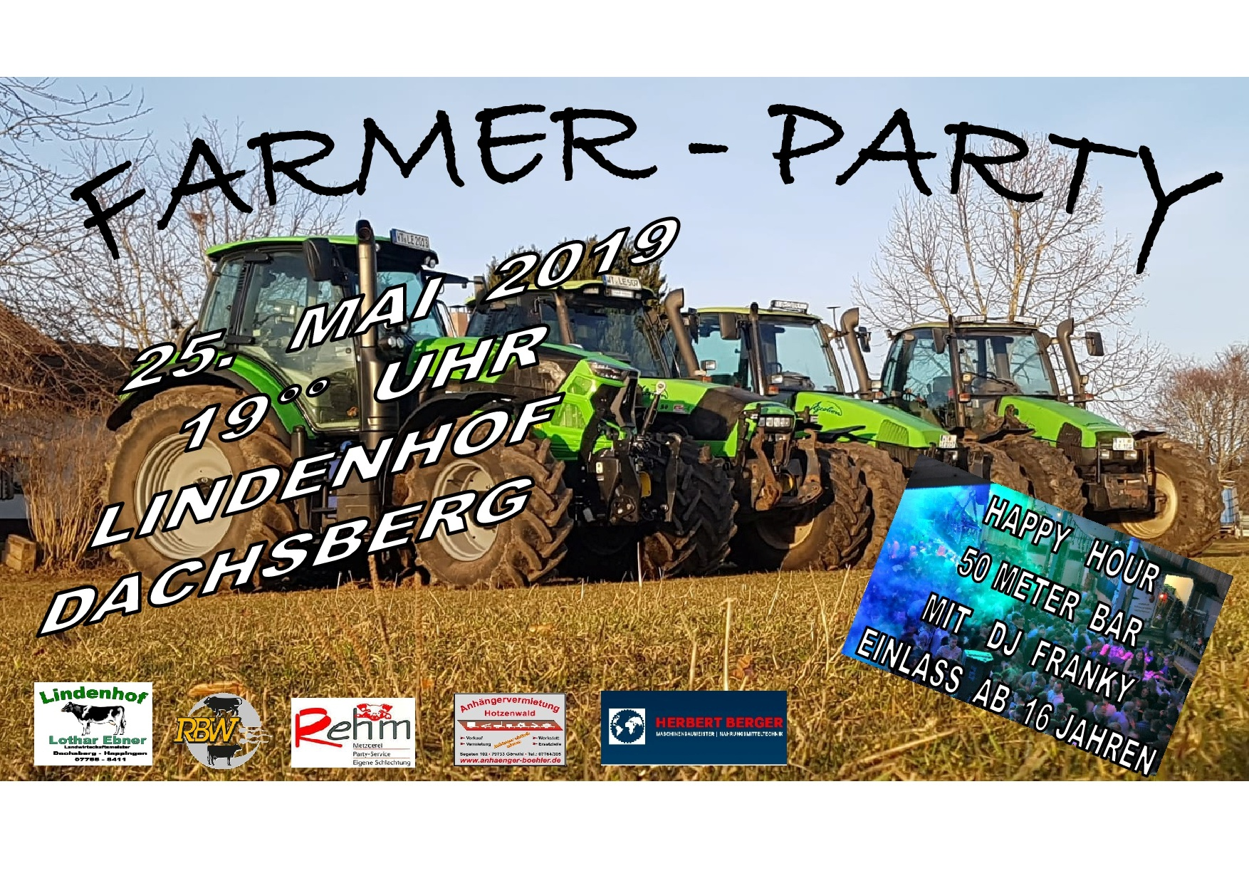 Farmers Party am 25.05.2019